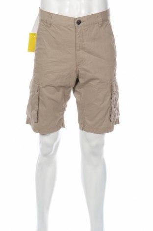 Ανδρικό κοντό παντελόνι Hanbury, Μέγεθος L, Χρώμα  Μπέζ, Βαμβάκι, Τιμή 5,03€