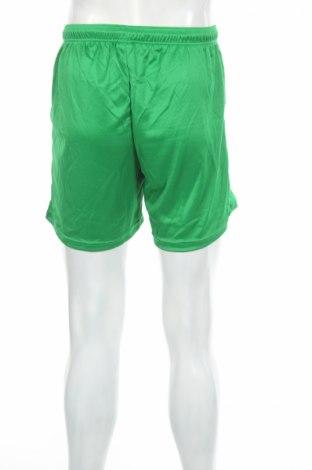 Мъжки къс панталон Jako, Размер M, Цвят Зелен, Полиестер, Цена 10,20лв.