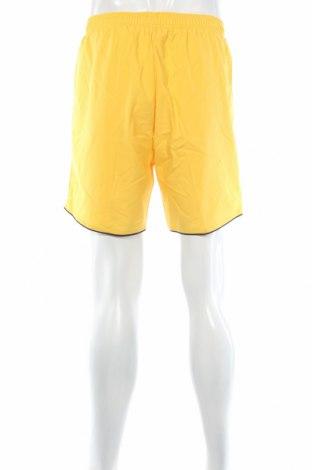 Мъжки къс панталон Jako, Размер M, Цвят Жълт, Полиестер, Цена 9,00лв.