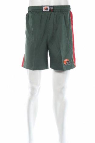 Мъжки къс панталон Jako, Размер S, Цвят Зелен, Полиестер, Цена 12,60лв.