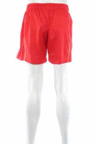 Мъжки къс панталон Jako, Размер M, Цвят Червен, Полиестер, Цена 9,75лв.