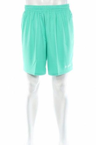 Мъжки къс панталон Jako, Размер XL, Цвят Зелен, Полиестер, Цена 11,70лв.