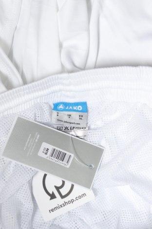 Мъжки къс панталон Jako, Размер XL, Цвят Бял, Полиестер, Цена 10,20лв.