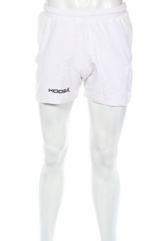 Мъжки къс панталон Kooga, Размер S, Цвят Бял, 94% полиестер, 6% еластан, Цена 11,90лв.