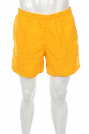 Pantaloni scurți de bărbați Speedo, Mărime L, Culoare Galben, Preț 47,25 Lei