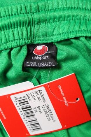 Мъжки къс панталон Uhlsport, Размер XXL, Цвят Зелен, Полиестер, Цена 25,50лв.
