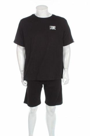 Мъжки комплект Leone, Размер XL, Цвят Черен, Памук, Цена 46,00лв.
