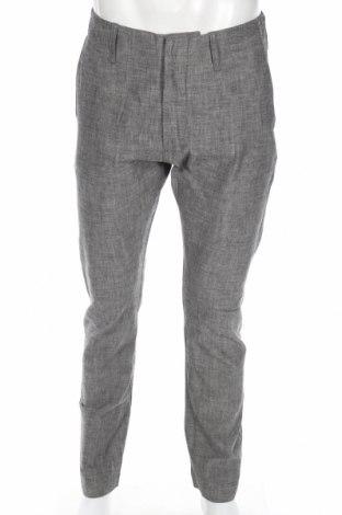 Мъжки панталон J.Lindeberg, Размер S, Цвят Сив, 100% памук, Цена 11,81лв.