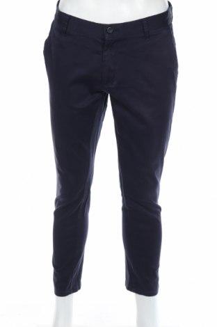 Ανδρικό παντελόνι Zara Man, Μέγεθος L, Χρώμα Μπλέ, 98% βαμβάκι, 2% ελαστάνη, Τιμή 10,64€