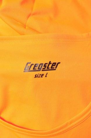 Мъжки потник Gregster, Размер L, Цвят Оранжев, Полиестер, Цена 9,60лв.