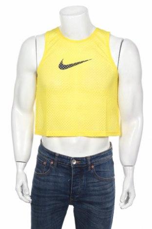 Мъжки потник Nike, Размер S, Цвят Жълт, Полиестер, Цена 14,70лв.