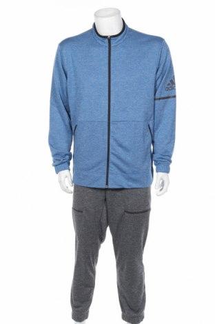 Мъжки спортен екип Adidas, Размер XL, Цвят Син, Полиестер, Цена 112,77лв.