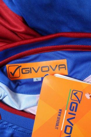Мъжки спортен комплект Givova, Размер L, Цвят Син, Полиестер, Цена 34,22лв.