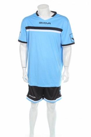 Мъжки спортен комплект Givova, Размер XL, Цвят Син, Полиестер, Цена 27,73лв.
