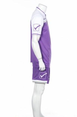 Мъжки спортен комплект Givova, Размер L, Цвят Лилав, Полиестер, Цена 34,22лв.