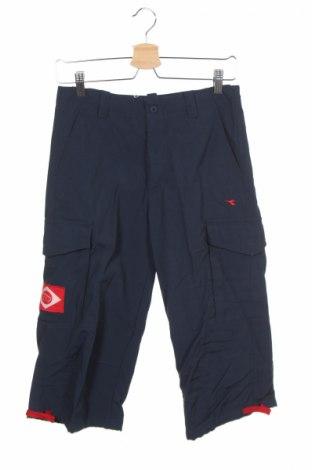 Мъжки спортен панталон Diadora, Размер S, Цвят Син, Полиамид, Цена 14,70лв.