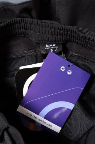 Мъжки спортен панталон Izas, Размер XS, Цвят Черен, 85% полиамид, 15% еластан, Цена 27,65лв.