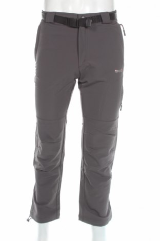 Мъжки спортен панталон Izas, Размер XS, Цвят Сив, 54% полиамид, 39% полиестер, 7% еластан, Цена 27,65лв.