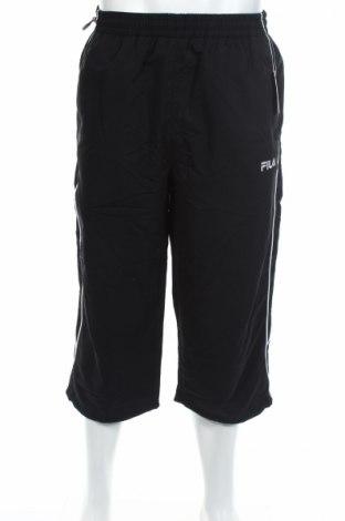 Мъжко спортно долнище Fila, Размер L, Цвят Черен, Полиестер, Цена 15,60лв.