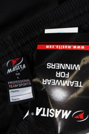 Мъжко спортно долнище Masita, Размер L, Цвят Черен, Полиестер, Цена 16,80лв.