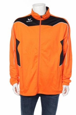 Мъжко спортно горнище Erima, Размер XL, Цвят Оранжев, Полиестер, Цена 23,70лв.