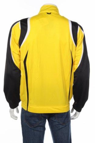 Мъжко спортно горнище Erima, Размер L, Цвят Жълт, Полиестер, Цена 23,70лв.