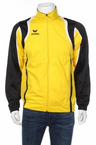 Мъжко спортно горнище Erima, Размер L, Цвят Жълт, Полиестер, Цена 21,35лв.