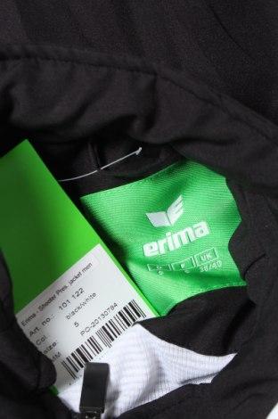 Мъжко спортно горнище Erima, Размер M, Цвят Черен, Полиестер, Цена 23,70лв.