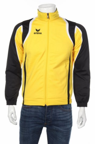 Мъжко спортно горнище Erima, Размер S, Цвят Жълт, Полиестер, Цена 21,35лв.