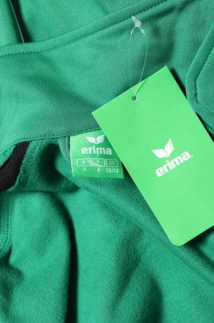 Мъжко спортно горнище Erima, Размер S, Цвят Зелен, Полиестер, Цена 16,80лв.