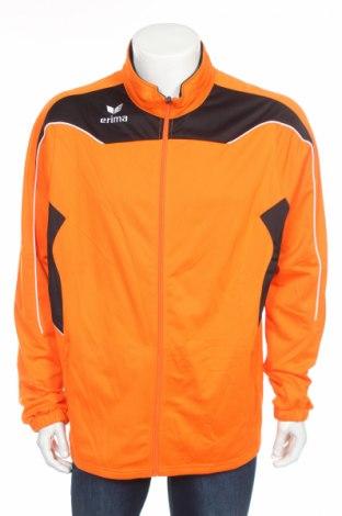Мъжко спортно горнище Erima, Размер XL, Цвят Оранжев, Полиестер, Цена 21,60лв.