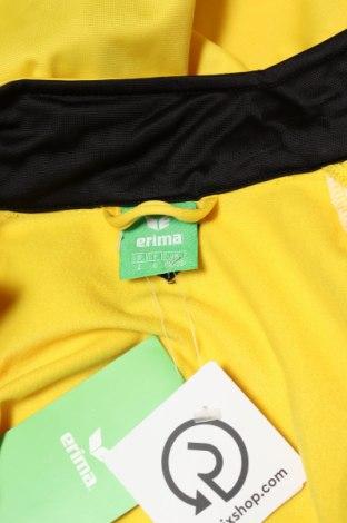Мъжко спортно горнище Erima, Размер S, Цвят Жълт, Полиестер, Цена 23,70лв.