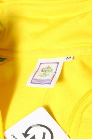 Мъжко спортно горнище Germany, Размер M, Цвят Жълт, Полиестер, Цена 11,70лв.