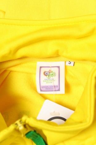 Мъжко спортно горнище Germany, Размер S, Цвят Жълт, Полиестер, Цена 11,70лв.