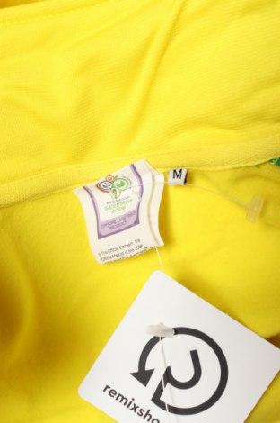 Мъжко спортно горнище Germany, Размер M, Цвят Жълт, Полиестер, Цена 13,65лв.