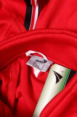 Мъжко спортно горнище Jako, Размер S, Цвят Червен, Полиестер, Цена 20,70лв.