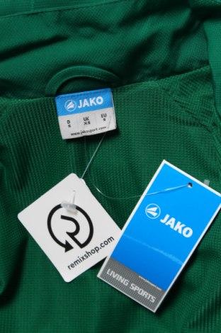 Мъжко спортно горнище Jako, Размер S, Цвят Зелен, Полиестер, Цена 14,70лв.
