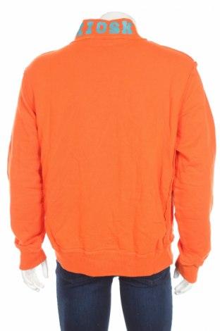 Мъжко спортно горнище Kiosk, Размер L, Цвят Оранжев, Памук, Цена 12,60лв.