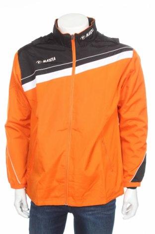 Мъжко спортно горнище Masita, Размер M, Цвят Оранжев, Полиестер, Цена 17,70лв.