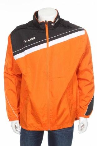 Мъжко спортно горнище Masita, Размер L, Цвят Оранжев, Полиестер, Цена 17,70лв.