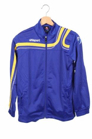 Мъжко спортно горнище Uhlsport, Размер XS, Цвят Син, Полиестер, Цена 19,20лв.