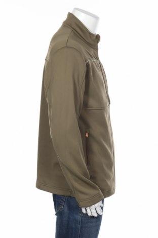 Мъжко спортно яке Gregster, Размер L, Цвят Зелен, Полиестер, Цена 25,80лв.