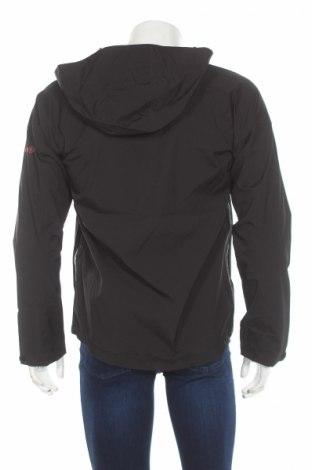 Мъжко спортно яке Izas, Размер S, Цвят Черен, 96% полиестер, 4% еластан, Цена 31,15лв.
