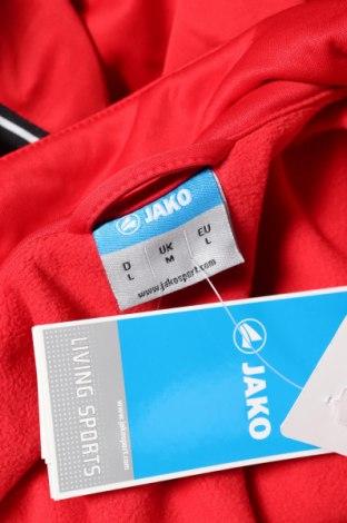 Мъжко спортно яке Jako, Размер L, Цвят Червен, Полиестер, Цена 23,40лв.
