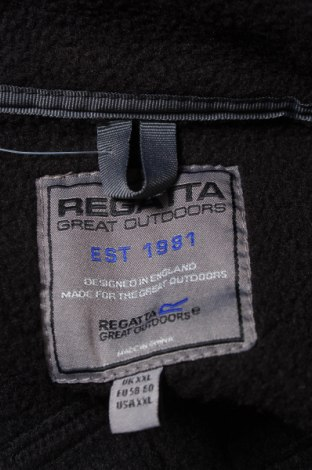 Мъжко спортно яке Regatta, Размер XXL, Цвят Черен, 94% полиестер, 6% еластан, Цена 66,75лв.