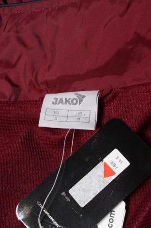 Мъжко спортно горнище Jako, Размер S, Цвят Червен, Полиамид, Цена 20,70лв.