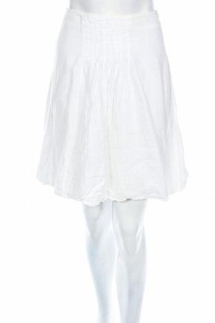 Sukňa, Veľkosť M, Farba Biela, Ľan, Cena  5,36€