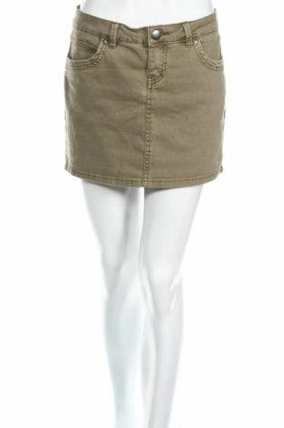 Пола Edc By Esprit, Размер XS, Цвят Зелен, 87% памук, 12% полиестер, 1% еластан, Цена 3,30лв.