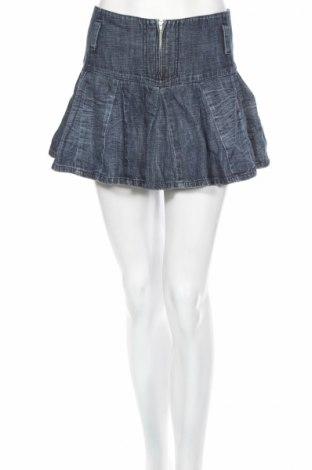 Φούστα Guess, Μέγεθος L, Χρώμα Γκρί, 100% βαμβάκι, Τιμή 5,41€