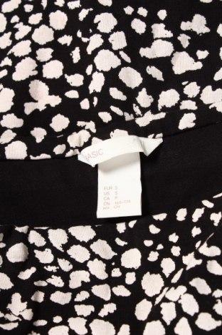 Пола H&M, Размер S, Цвят Черен, 95% памук, 5% еластан, Цена 4,70лв.